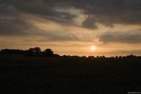 východ slunce v Sassnitzu